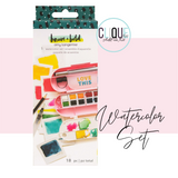 Watercolor Set | Amy Tangerine Brave & Bold | American Crafts