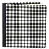 Snap Flip Book-Black and White Gingham | Simple Stories