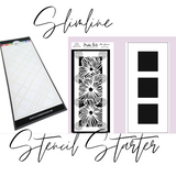 Explore & Learn Kit | Slimline Stencil Starter