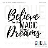 Believe in the Magic of...  | Digital Cut File
