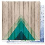 O Bois Fleuri | 12 x 12 Patterned Paper | Les Ateliers de Karine