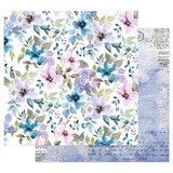 In the Water Garden | 12 x 12 Patterned Paper | Prima-Watercolor Floral
