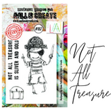 Not All Treasure Stamp Set | AALL & Create