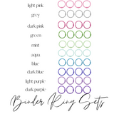 Binder Rings 1.5"