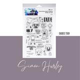 Dudes Too Stamp Set | Simon Hurley | Ranger