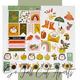 So Fall Cut-Apart  Cardstock Die Cuts | Sokai Papers
