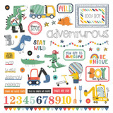 Element Stickers | Little Boys-Big Adventures | Photoplay Paper