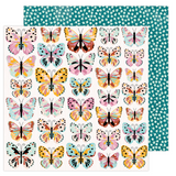 Monarch| Amy Tangerine Brave and Bold | American Crafts