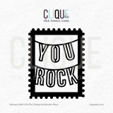 You Rock  | Digital Cut File