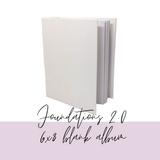 6x8 Album Base | White  Foundations 2 | 49 and Market