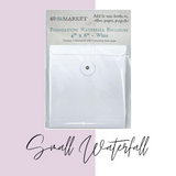 Small Waterfall | White Foundation | 49 and Market