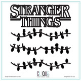 Cut Files | Stranger Things Have Happened | Clique Kits
