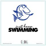 Digital Cut Files | Just Keep Swimming | Petra DeVroege + Gia Lau