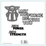 Digital Cut Files | The Force| Petra de Vroege + Gia Lau