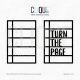 Turn the Page  | Digital Cut File
