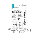 Voices of Courage | Better Together 2 Stamp Set | Altenew