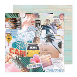 High Tide 12 x 12 Patterned Cardstock | Heidi Swapp Carefree