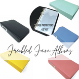 Travelers Notebook  Ring Binder Albums | Freckled Fawn