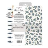 Planner Starter Kit | Maggie Holmes Freestyle Disc Planner | Blue Floral