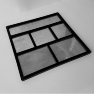 Magnetic Shadow Box | Black | Foundations Decor