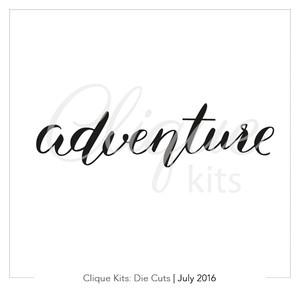 Adventure | Digital Die Cut