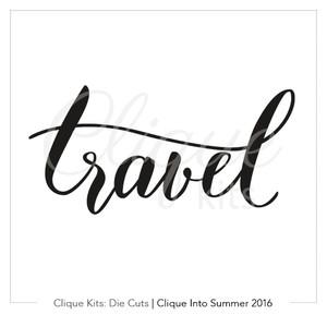 Travel  | Digital Die Cut