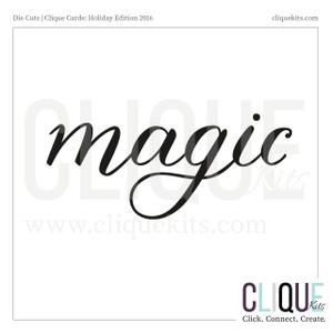 Magic  | Digital Die Cut