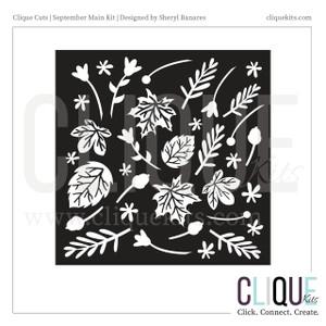 Leafy  | Digital Die Cut