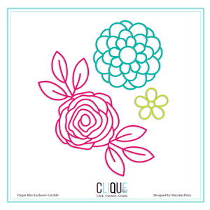 Flower Set | Clique Kits Exclusive | Maryam Perez