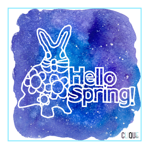 Hello Spring! |Easter Free Cut File | Gia Lau