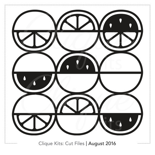Citrus - August 2016 | Digital Die Cut