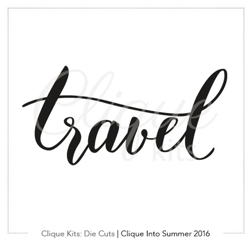 Travel  | Digital Die Cut