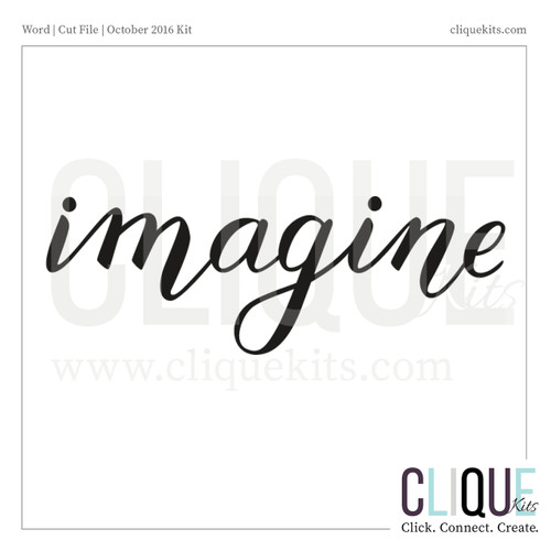 Imagine - Summer 2016 | Digital Die Cut