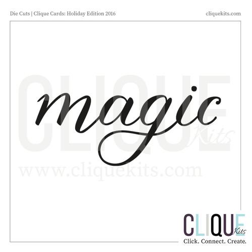Magic - Holiday 2016 | Digital Die Cut