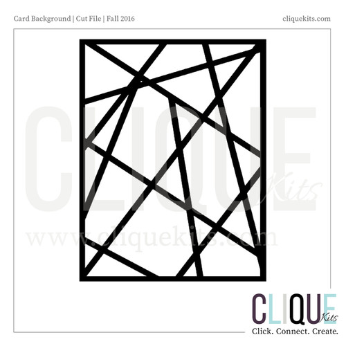 Line Background - Fall 2016 | Digital Cut File