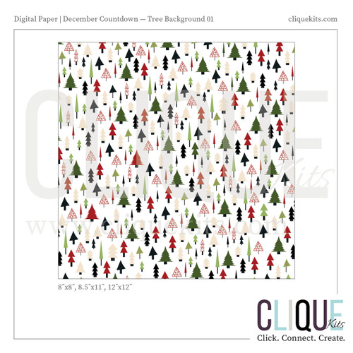 Traditional Tree Paper - Holiday 2016 | Digital Print