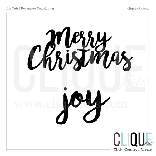 Holiday Phrases - Holiday 2016 | Digital Die Cut