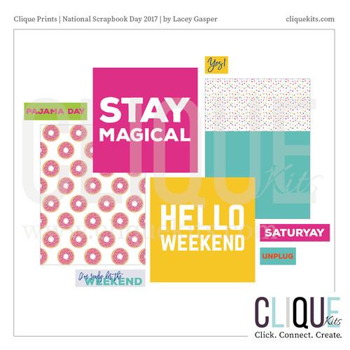 National Scrapbook Day 2017   Digital Print