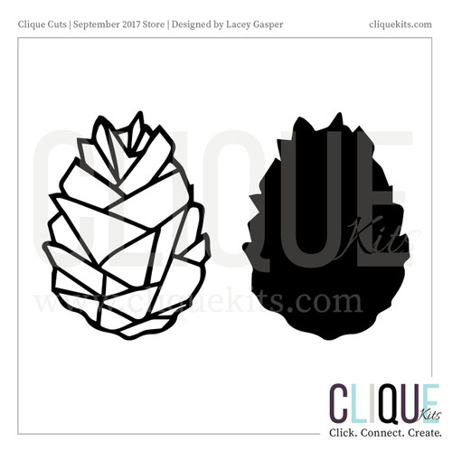 Pinecone  | Digital Die Cut