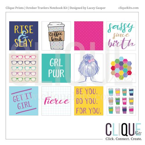 Girl Tribe - October 2017 TN Kit | Digital Print