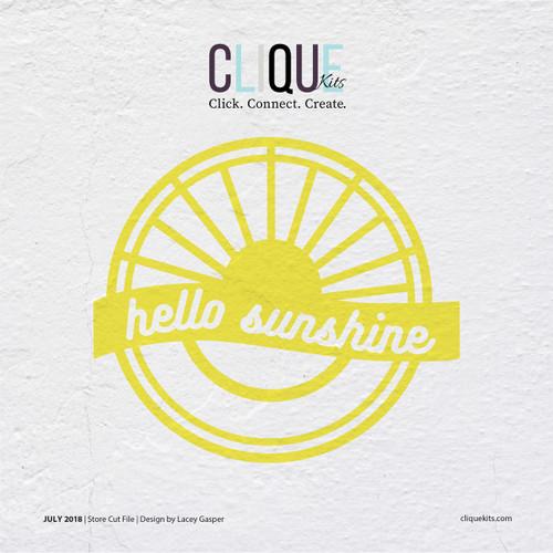 Hello Sunshine | Digital Cut File