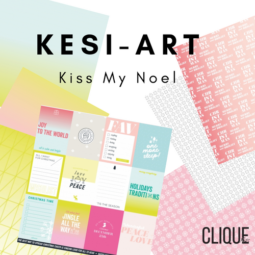 Kiss My Noel Paper Pack| France: Kesi-Art