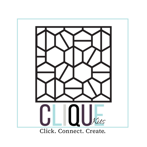Square Background Cut File | by Cecily Moore