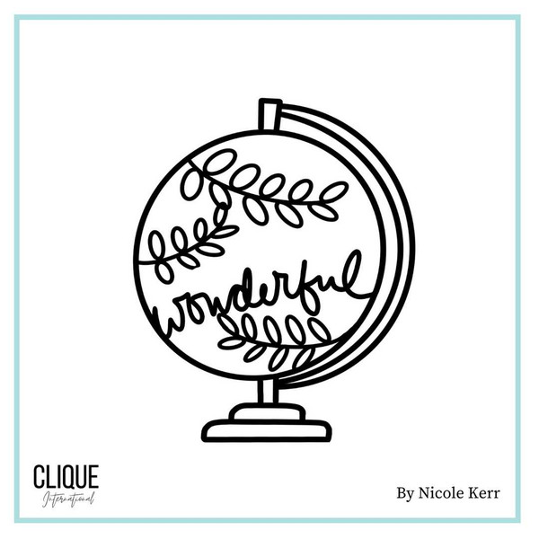 Wonderful World Kit | Exclusive Cut File | By Nicole Kerr