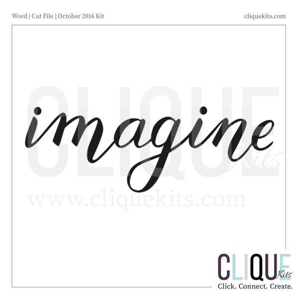 Imagine | Digital Die Cut
