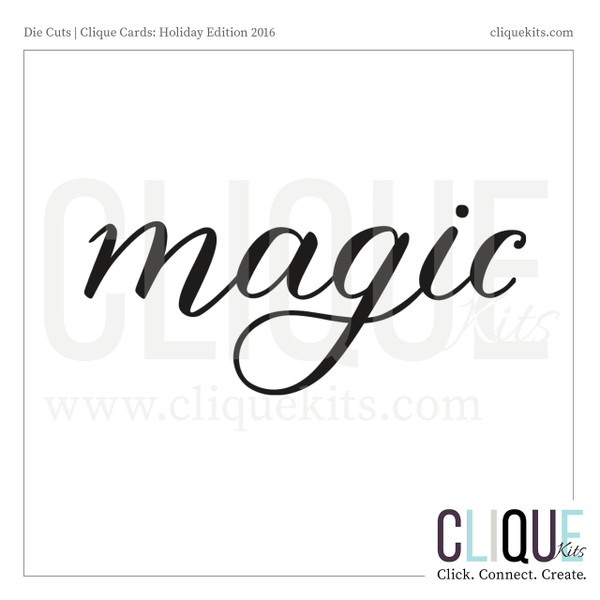 Magic  | Digital Die Cut