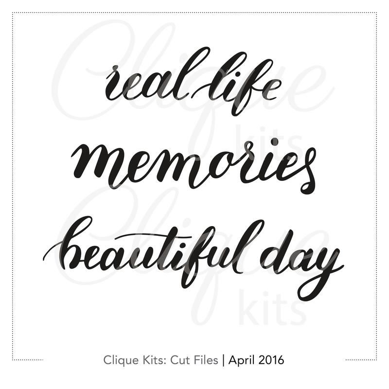 Lovely Phrases  | Digital Cut File