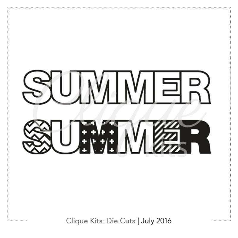 Summer | Digital Die Cut