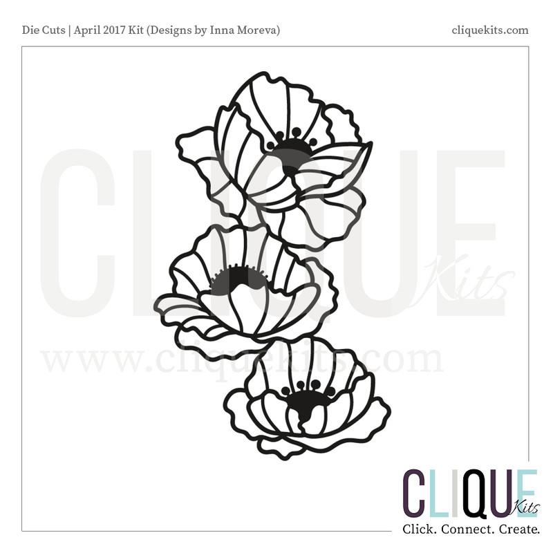 Floral Stack  | Digital Cut File