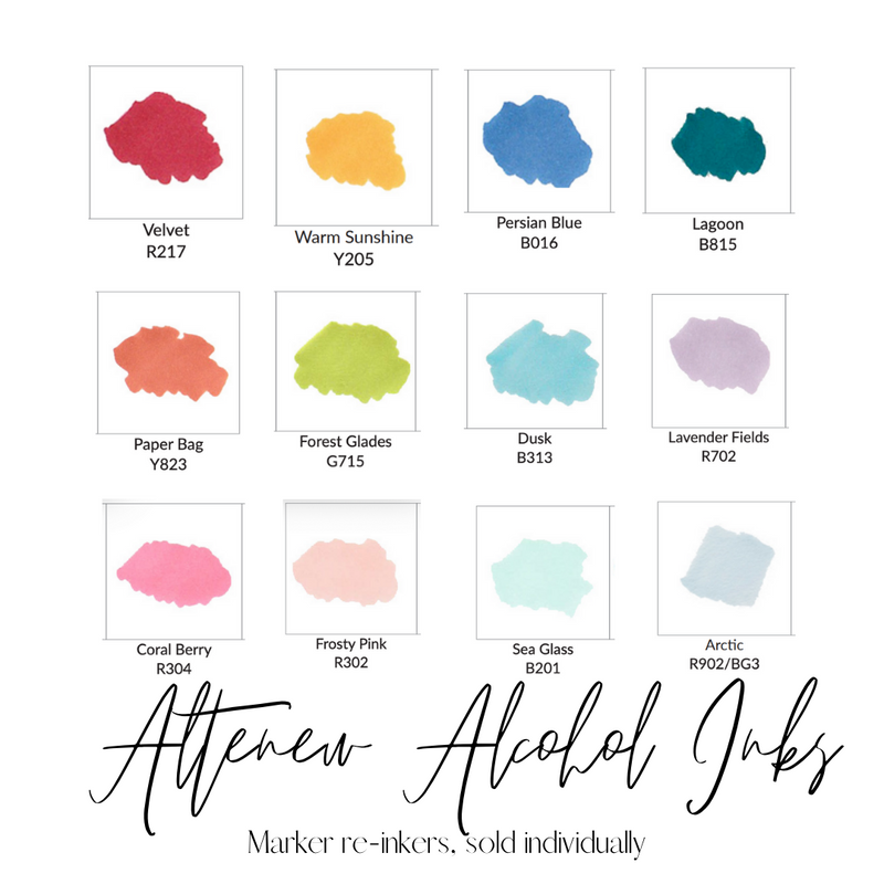 Velvet | Alcohol Ink | Altenew